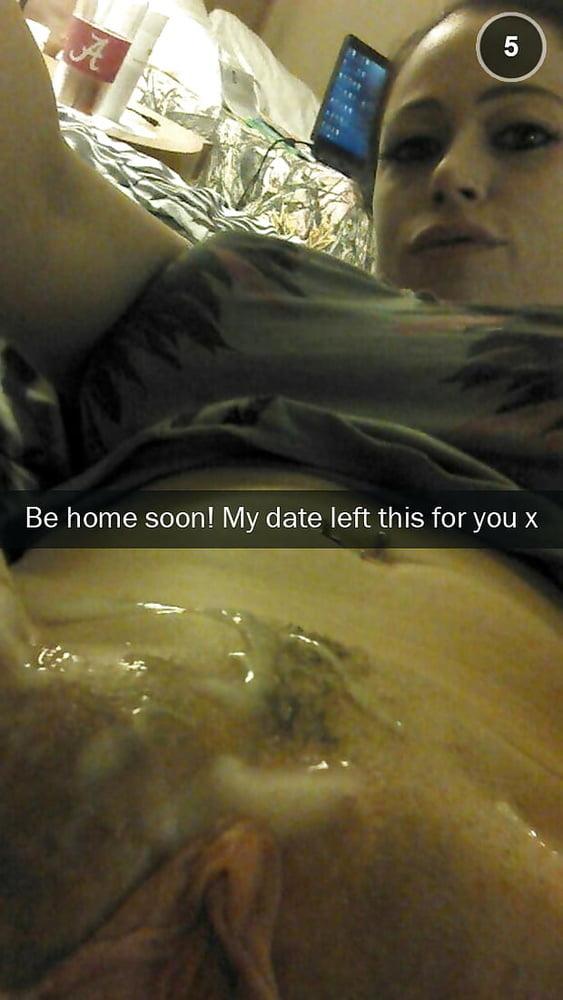 Cuckold cheating snapchat pics